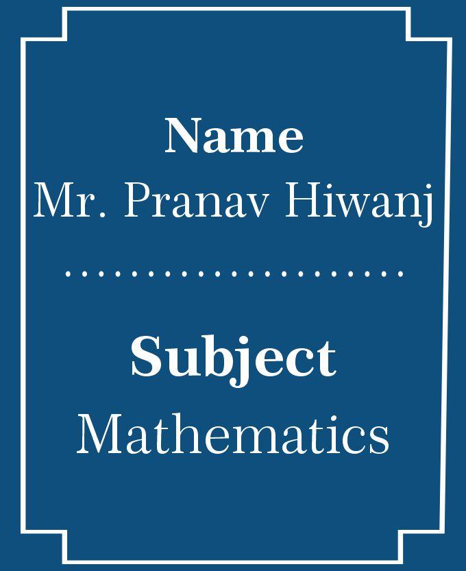 Mr. Pranav H